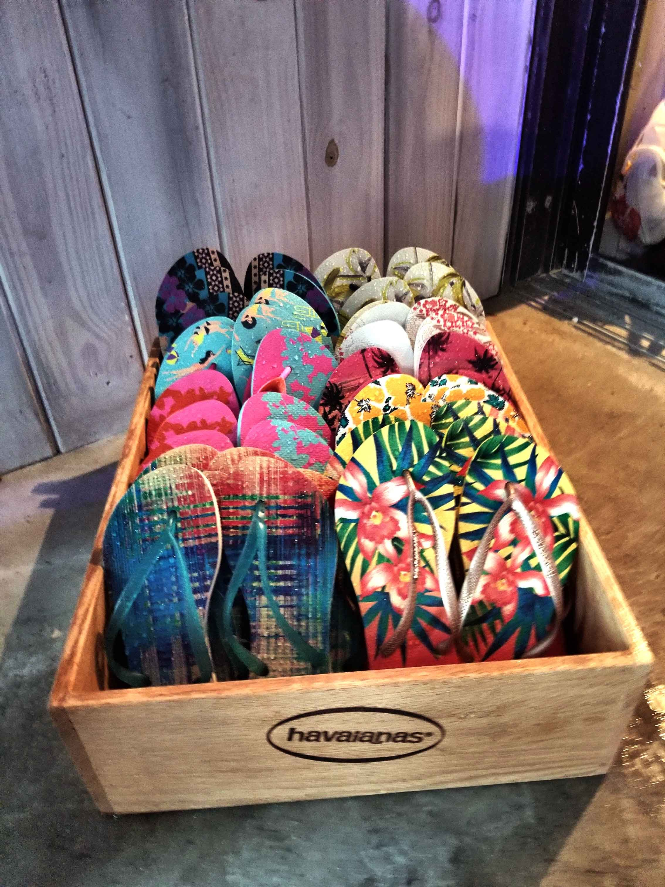 A Night in Rio with Havaianas