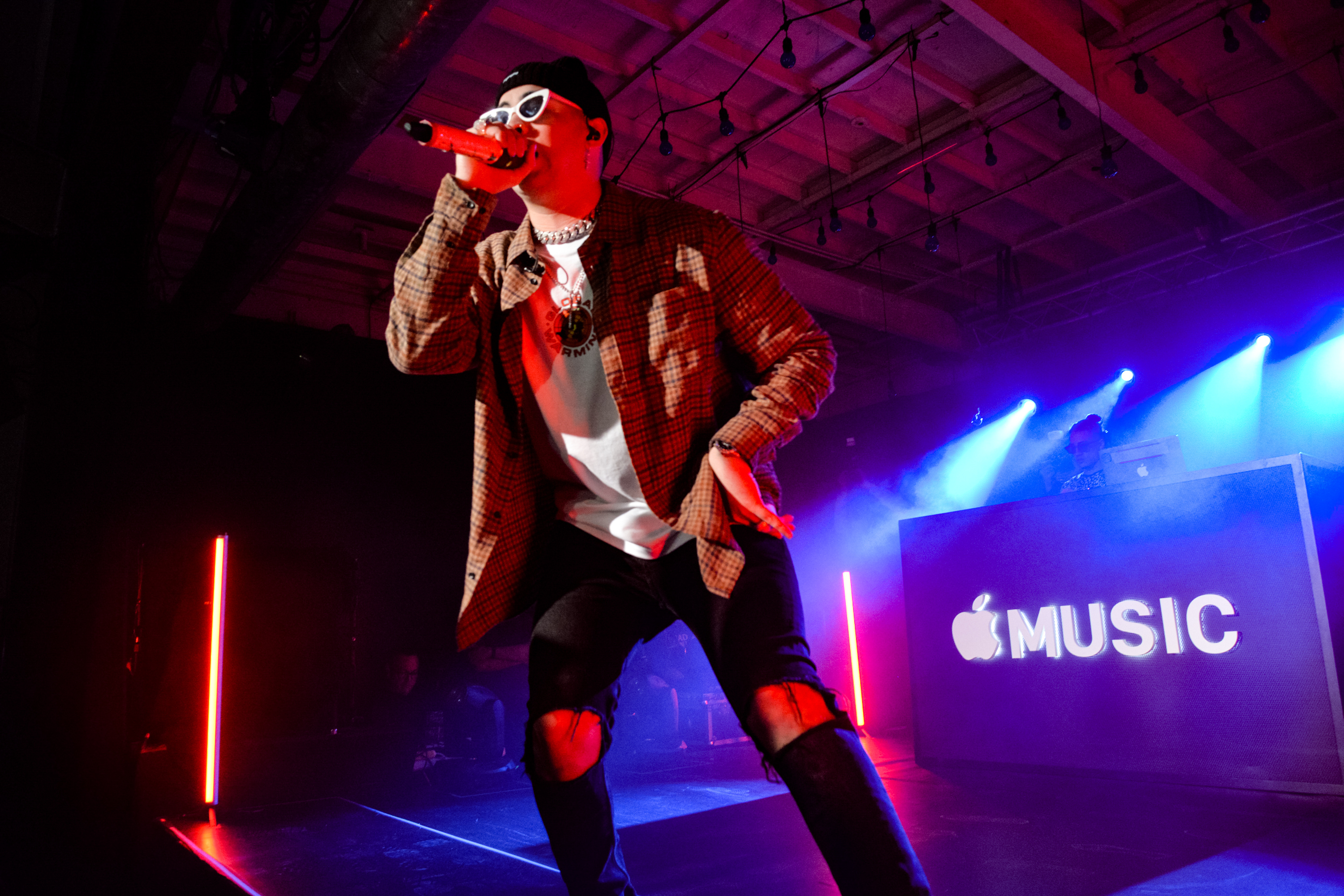 Bad Bunny Debuts New Apple Music Up Next Film in Miami