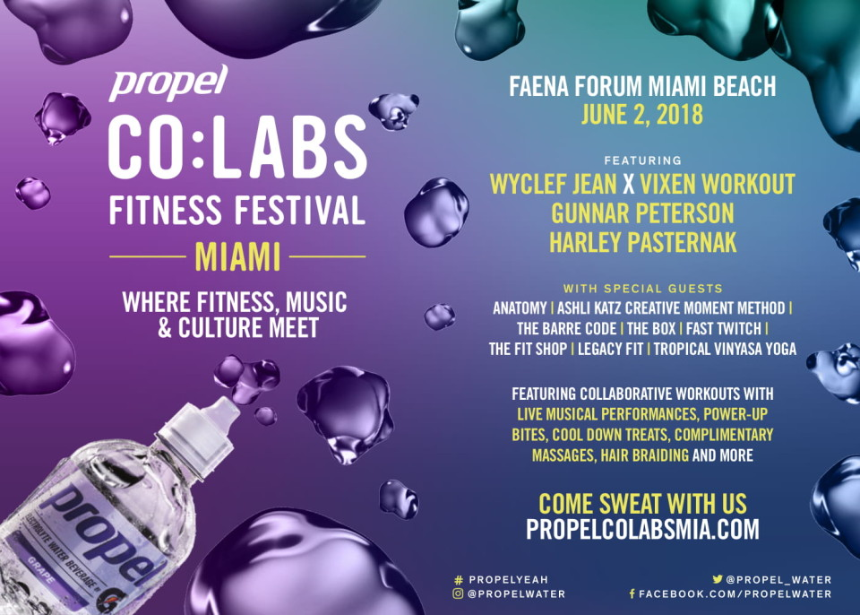 Propel CO:LABS FITNESS FESTIVAL MIAMI