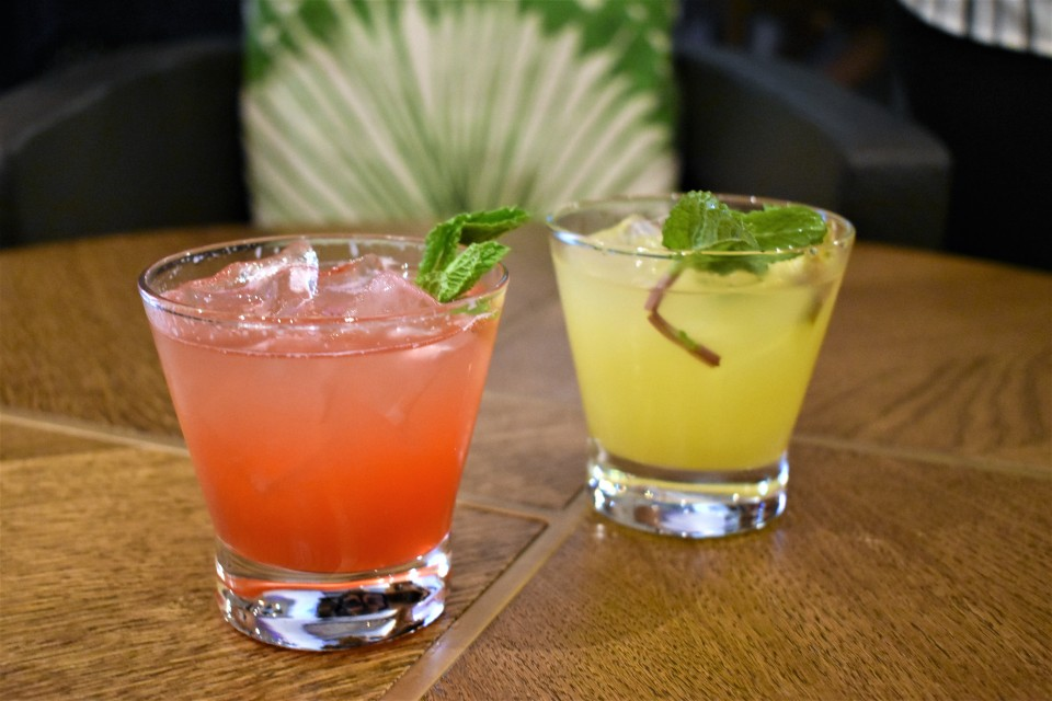 Grab hand muddled mojitos at the Sugarcane Mojito Bar.