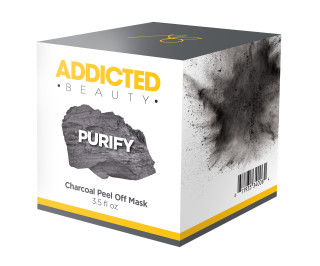 Addicted Beauty - Charcoal Peel Off Mask ($45.00)